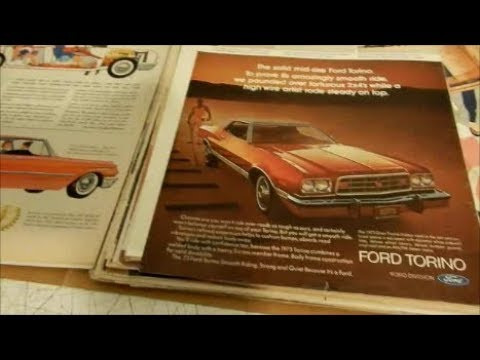 MY VINTAGE FORD CAR ADS - PART 1