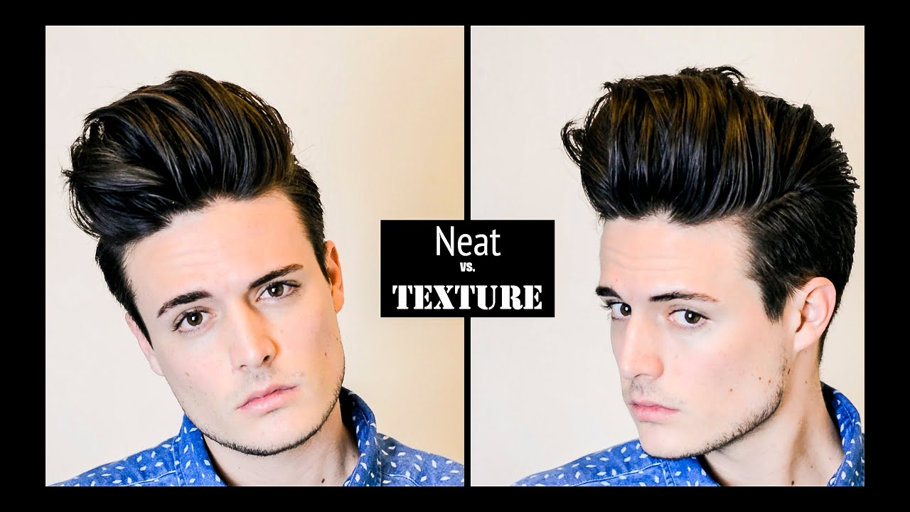 how to style in between hair mens hairstyle hair tutorial volume quiff neat vs 6780