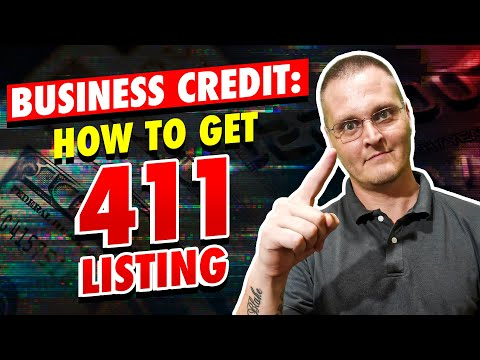 Building Business Credit: 411 Business Phone Listing To Help Build Business Credit