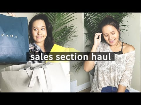 Sales Section Only Haul | Try-On Fashion Haul