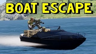 ArmA 3 | Rolling Keg | Boat Escape