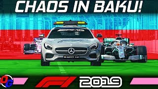 F1 2019 KARRIERE #5 – Chaos in Baku! | Let's Play Formel 1 Deutsch Gameplay German