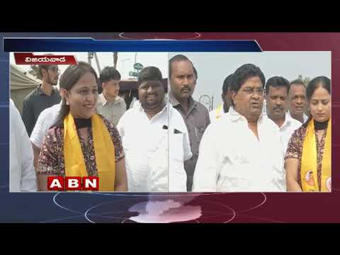 TDP MLA Jaleel Khan's daughter joins TDP ,to contest from Vijayawada West | face to face| ABN Telugu