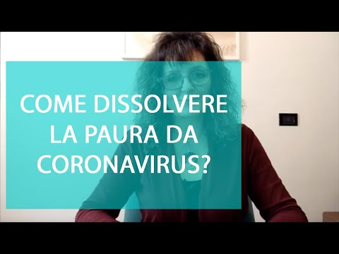 Coronavirus: COME Dissolvere La PAURA Da Contagio? Vi Regalo Una Tecnica Semplice Ed Efficace.