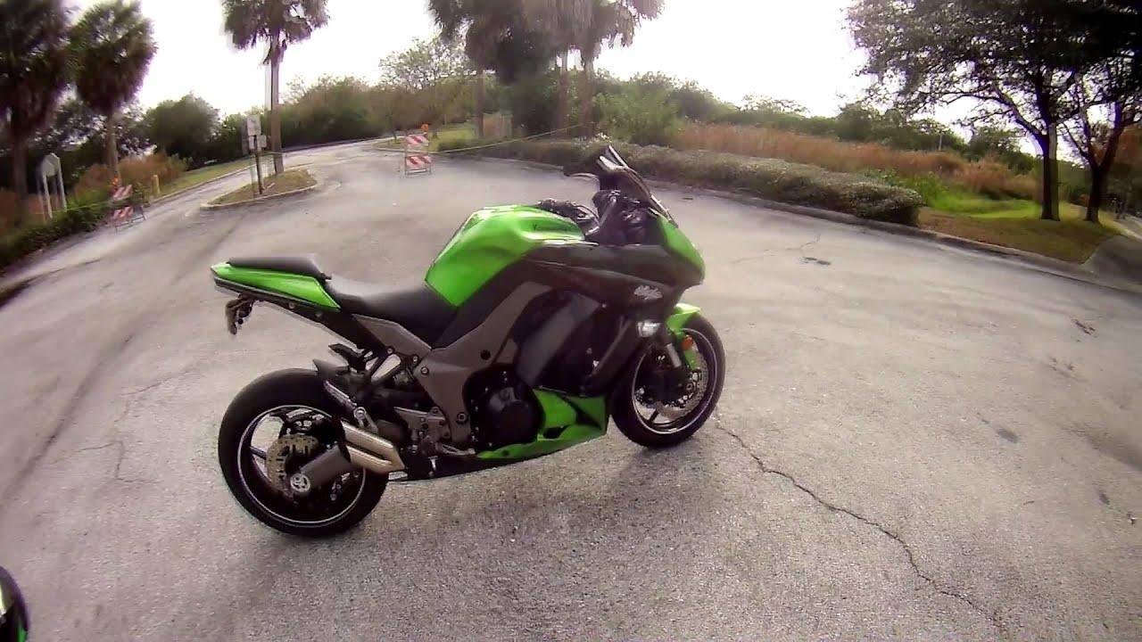 Ninja 1000 Mods + exhaust sound