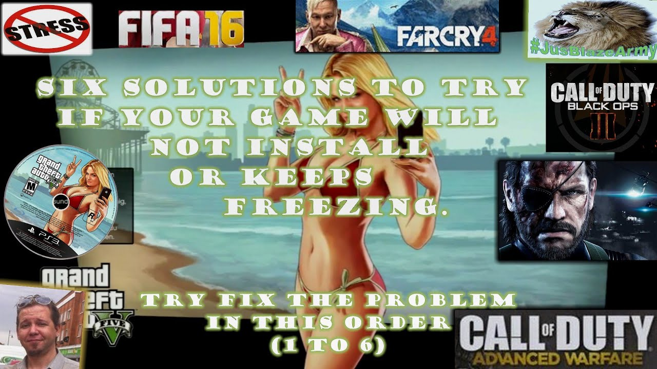 ★ Six Solutions Guaranteed To Fix Your Game Install, Update Or Freezing  Problems ★