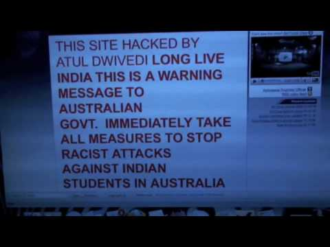 Australia Airforce Website Hacked by Indian Students