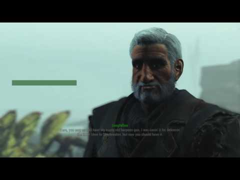 Fallout 4 Far Harbor - Shipbreaker (with and without Longfellow)