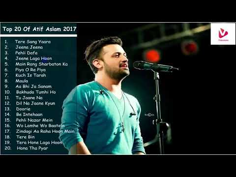 Mix - Best of Atif Aslam | Top 20 Songs | Jukebox 2018