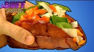 Bacon Taco Recipe - Taco Shell Made Of Bacon!