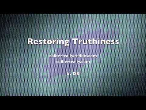 Restoring Truthiness Radio Broadcast by DB