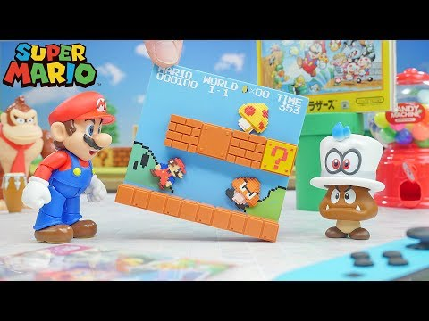 Super Mario Stage Figure | Stop Motion