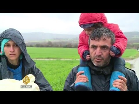 Afghan refugees drown in river en route to Macedonia