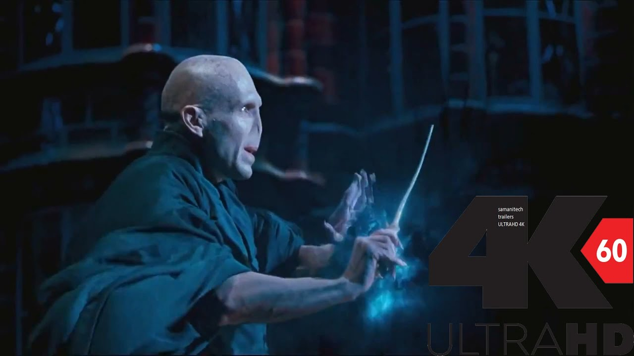4k][60fps] dumbledore vs voldermort 4k 60fps hfr[uhd] ultra hd - youtube
