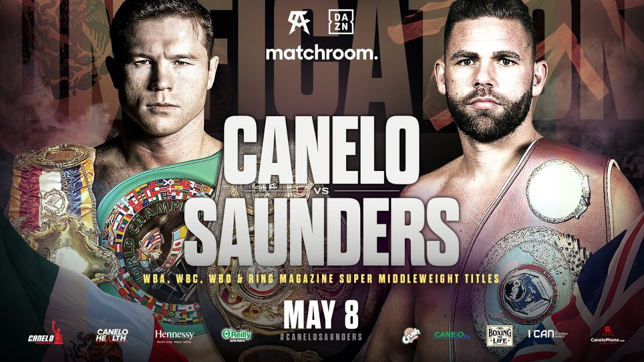 Canelo Alvarez vs Billy Joe Saunders confirmed (Promo)
