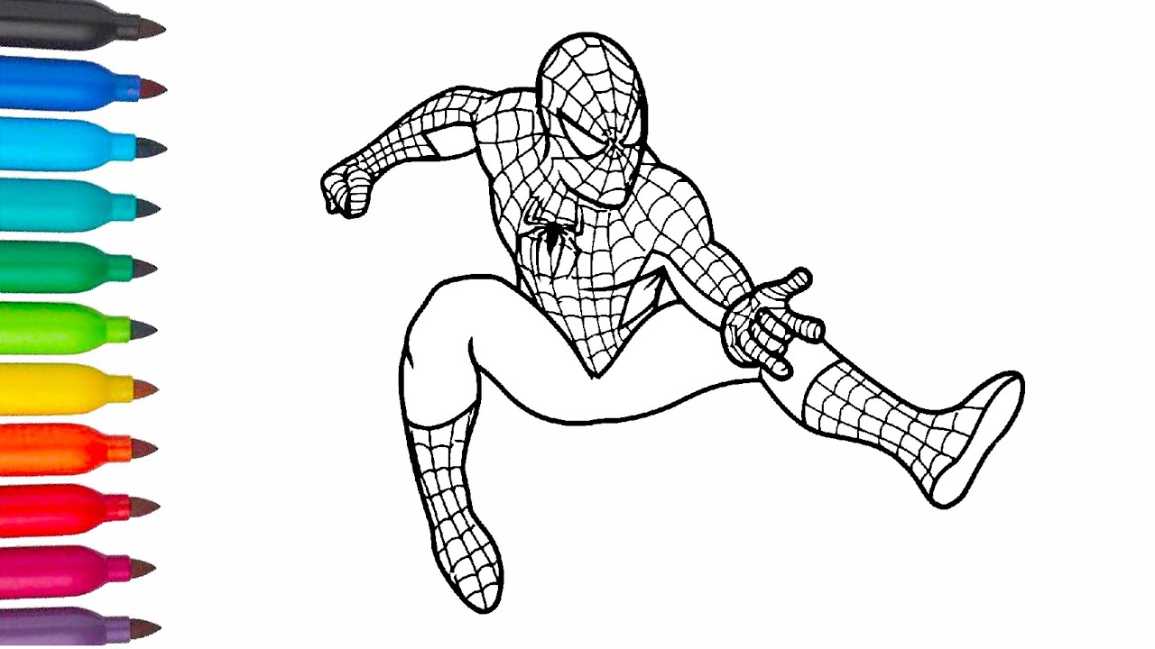 Spiderman | Coloring Pages | Человек - паук Раскраска ...