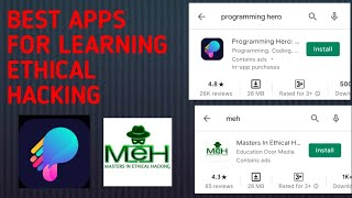 BEST APP FOR LEARNING ETHICAL HACKING ?