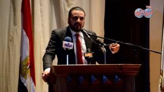 أخبار اليوم | إيمان البحر درويش وانوشكا في حفل تكريم جامعة عين شمس
