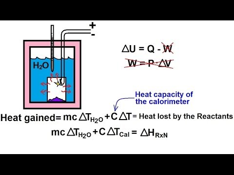Chemistry Bomb Calorimeter How It Works