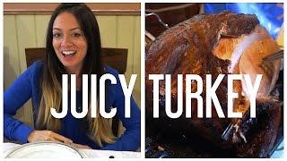 Juicy Thanksgiving Turkey - Vlogtober Day 13