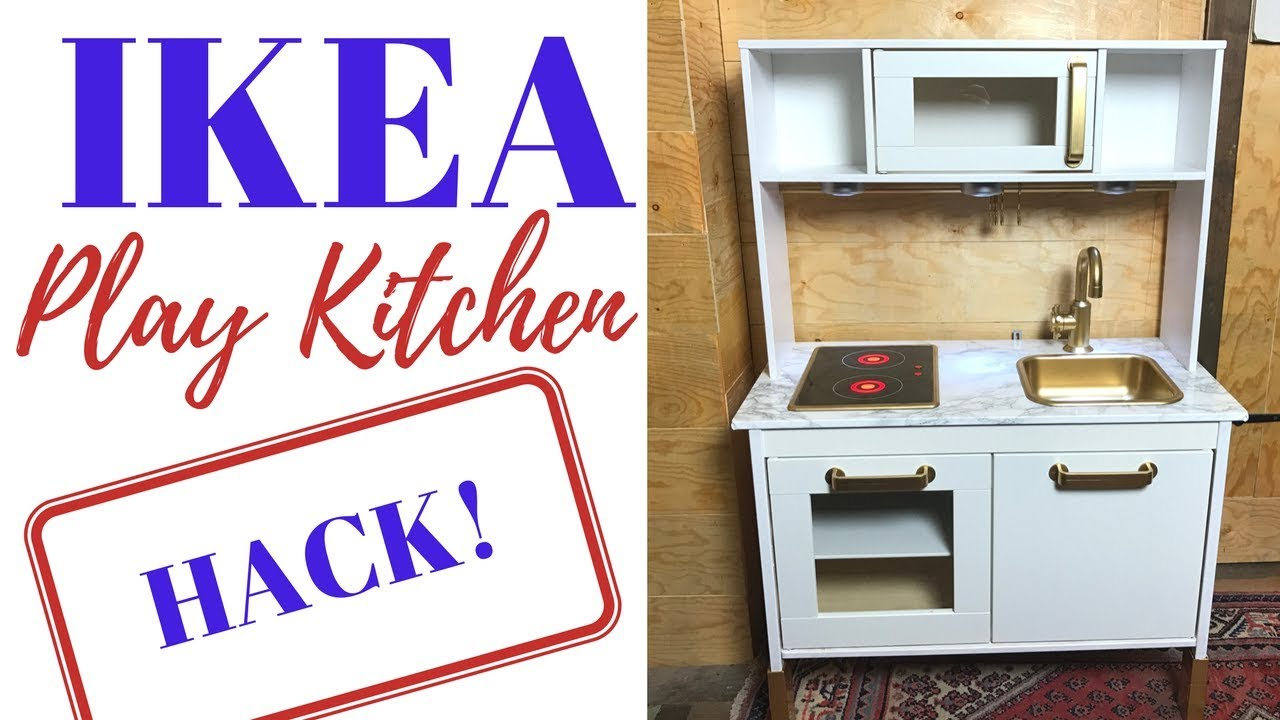 diy ikea duktig play kitchen hack mrs grace young youtube. Black Bedroom Furniture Sets. Home Design Ideas