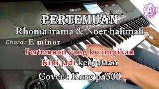 Download PERTEMUAN - KARAOKE DANGDUT LIRIK (COVER) KORG Pa300