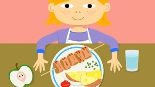 Healthy Eating! This is My Food - Nutrition for Kids - best app demos for kids - Ellie