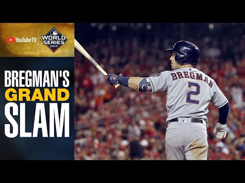 Alex Bregman's GRAND SLAM Puts Astros WAY Up On Nationals In World Series Game 4   MLB Highlights