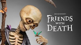 Friends With Death - Jim McKenzie  (Grim Reaper Sculpture)  7,000 Photos