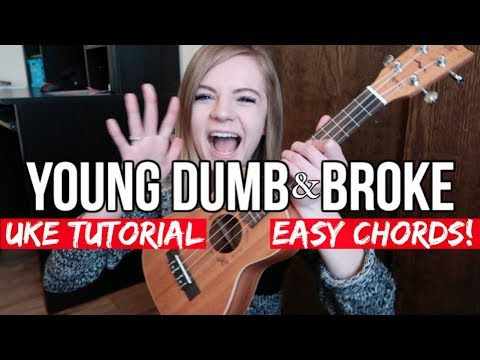 Young Dumb & Broke  Khalid  EASY UKULELE TUTORIAL