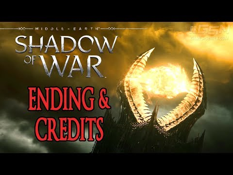 Middle-earth: Shadow of War Ending & Credits