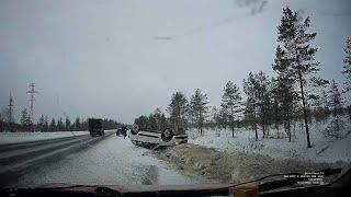Тестдрайв на переворачивание на трассе Северодвинск - Архангельск