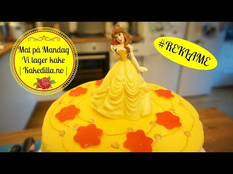 REKLAME | Kakedilla.no | Mat på Mandag | Vi lager kake