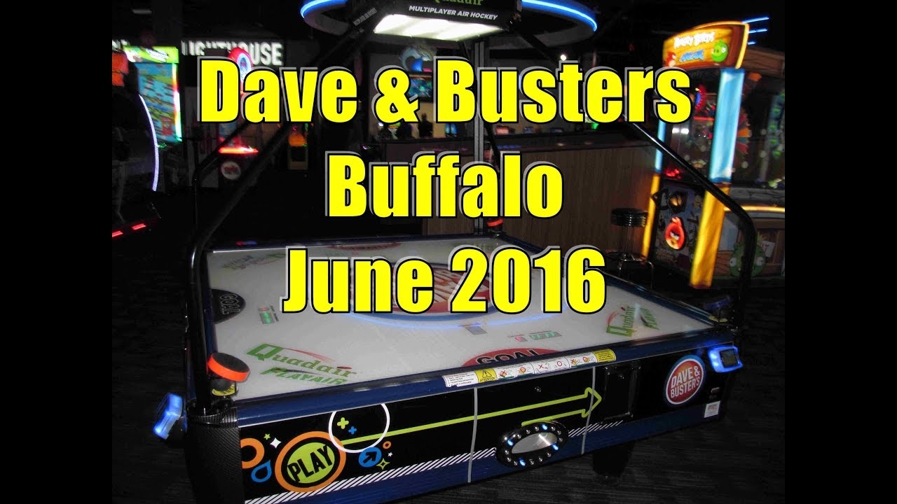 Dave n busters buffalo ny