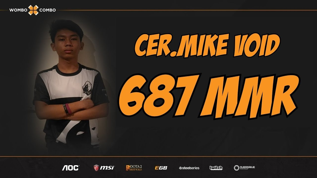 Cer.Mike.WxC Plays Faceless Void | Colgate NAMBAWAN! | 687 MMR Adventures