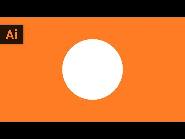 How to Make a Circle | Illustrator Tutorial