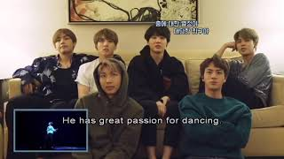 """BTS react to JHOPE """" Boy Meets Evil"""""""