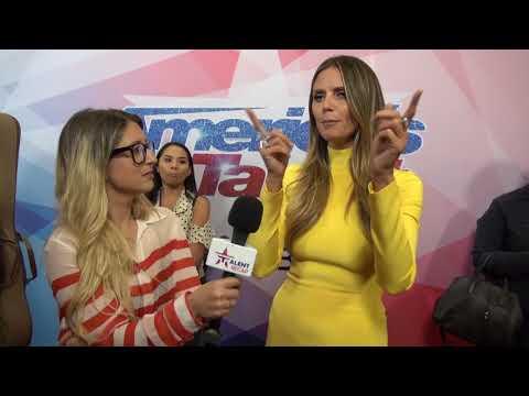 Heidi Klum Gives America's Got Talent WINNER Darci Lynne Advice l AGT 2017