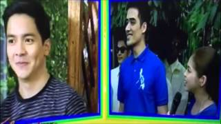 Alden Richards  nagselos.He got jealous (for real).Unang selos.Maine Mendoza pinakilala sa ibang guy