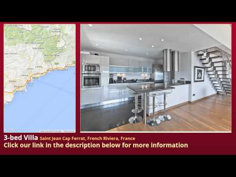 3-bed Villa for Sale in Saint Jean Cap Ferrat, French Riviera, France on frenchlife.biz