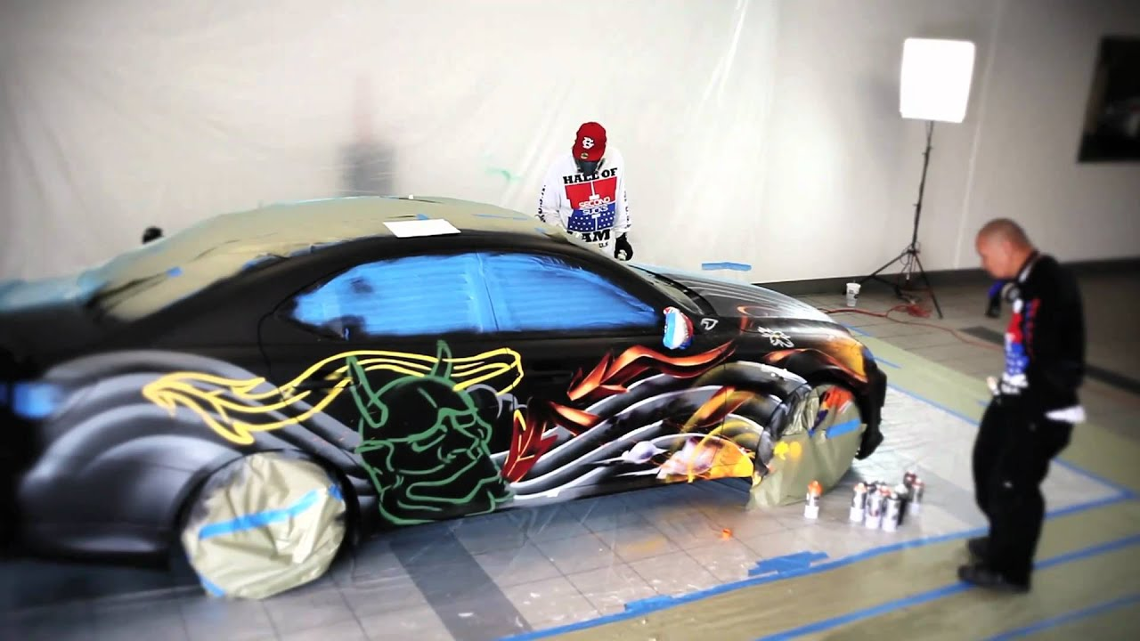 Car Mural Wallpaper Lexus Is350 Get Colored By Bam Amp Vogue Youtube