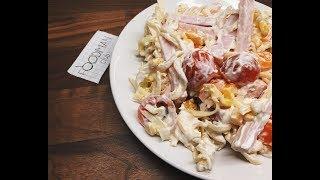 Итальянский салат с макаронами: рецепт от Foodman.club