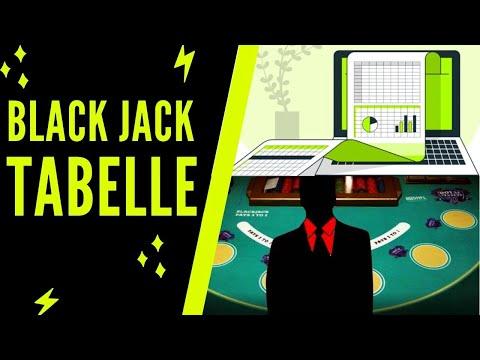 BLACKJACK TABELLE - Mit Wahrscheinlichkeiten Und Der Richtigen Strategie 10x Mehr Gewinnen!