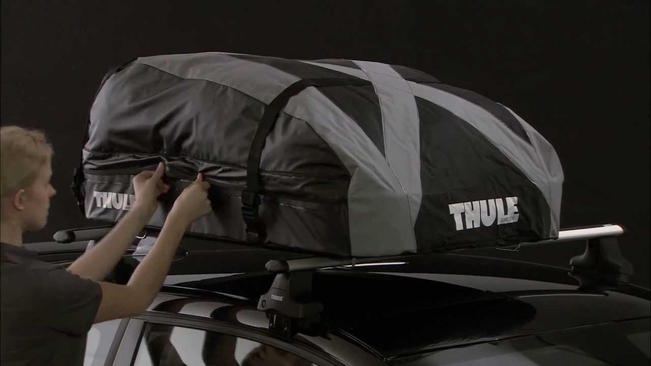 Thule Ranger 90 Folding Soft Roof Box Youtube