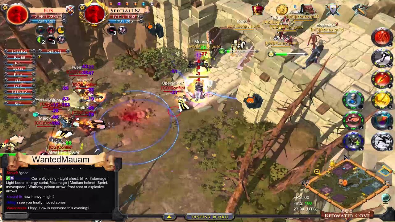 how to get into albion online pvp