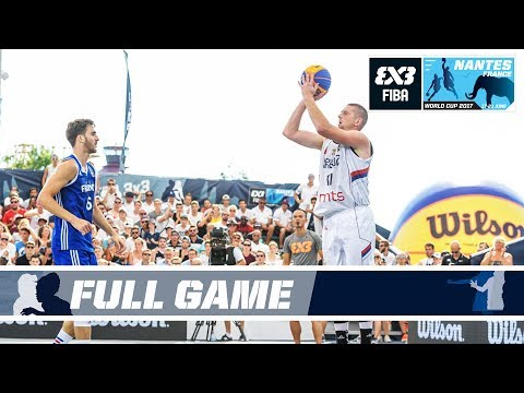 Serbia deliver a knock-out punch to France - Full Game - FIBA 3x3 World Cup 2017