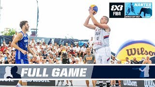 Serbia vs. France - Full Game - FIBA 3x3 World Cup 2017