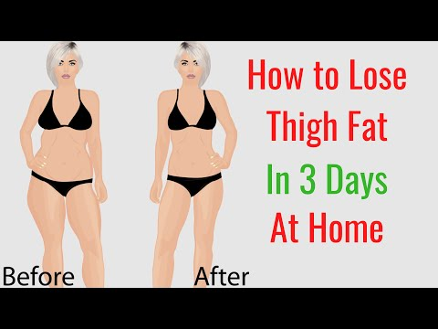 How to Lose Thigh Fat in 3 Days at Home