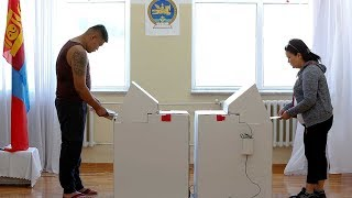 Mongolia presidential run-off election result expected on Sunday