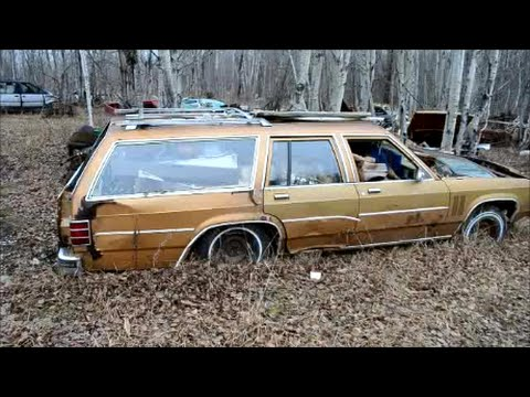 70s & 80s AMERICAN CARS + MORE IN CANADIAN SALVAGE YARD